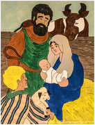 25th Dec 2019 - The Nativity (painting)