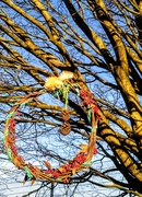 25th Dec 2019 - Park tree wreath