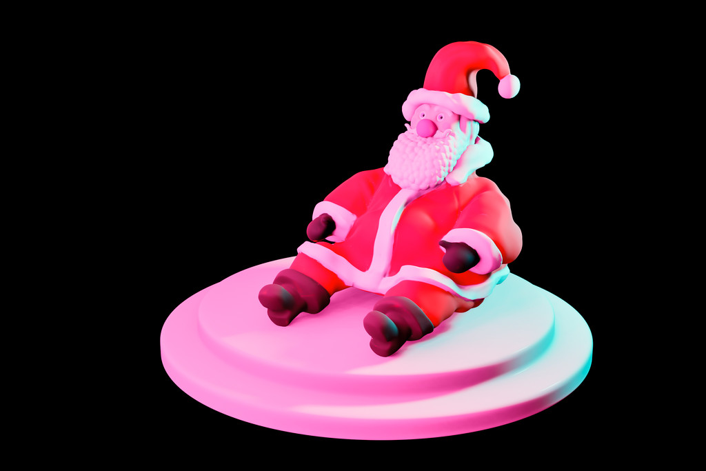 Santa Sculpt by humphreyhippo