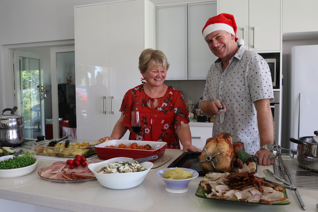 Our Christmas hosts by gilbertwood