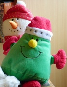 27th Dec 2019 - Mr Christmas (and Mr Snowman)