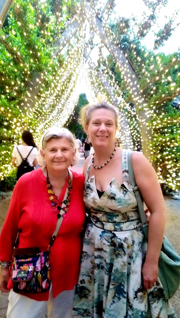 My daughter & I at the Christmas markets South Bank Brisbane by 777margo