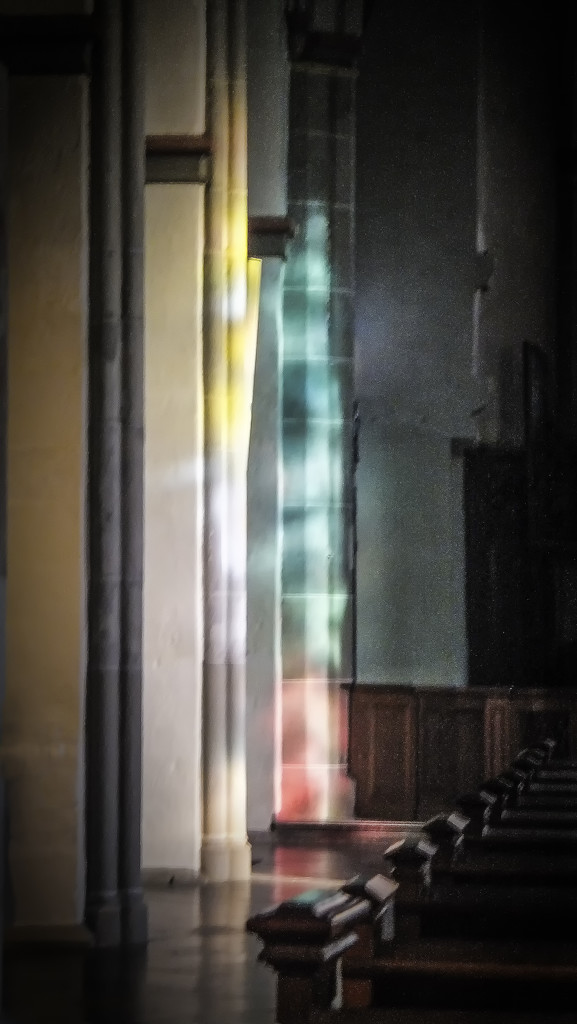 Colours in an abbey church (Tina's photo) by ivan