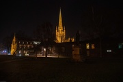 25th Dec 2019 - Norwich Cathedral at night.