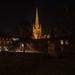 Norwich Cathedral at night. by padlock