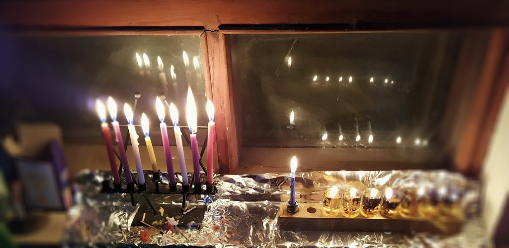 7th Night of Chanukah by shilohmom