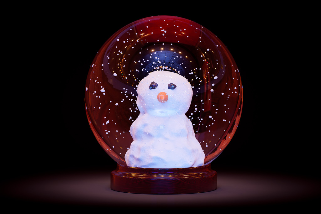 Snow Globe by humphreyhippo