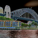 Solarized Harbour Bridge