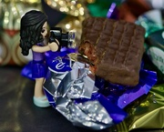 29th Dec 2019 - Lucy's Getting Into The Christmas Chocolates _DSC9467