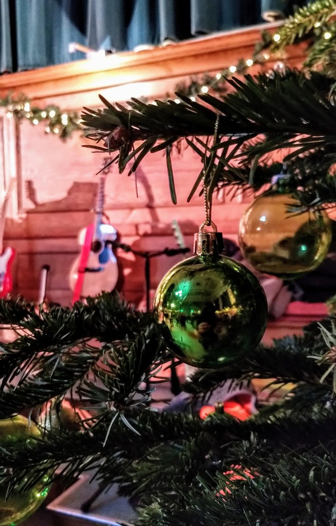 Cecil Sharp House bauble by boxplayer