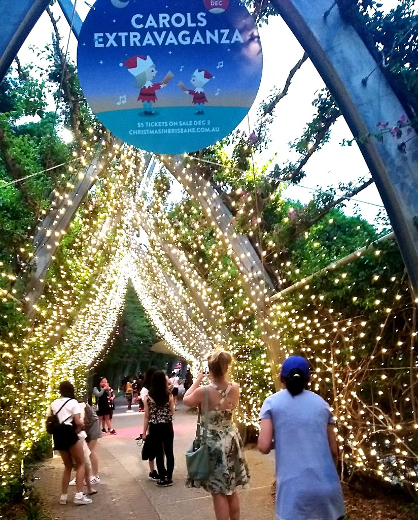 South Bank Christmas decorations Brisbane by 777margo