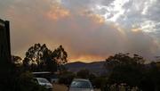 30th Dec 2019 - Bushfire over the Hill