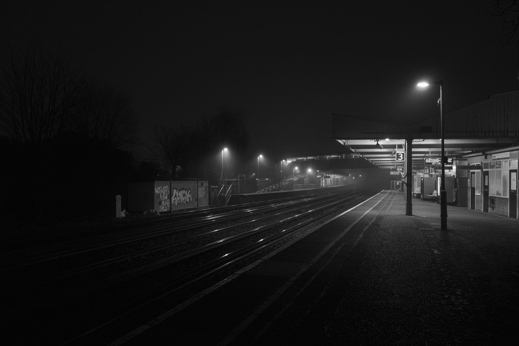 Waiting at the station by rumpelstiltskin
