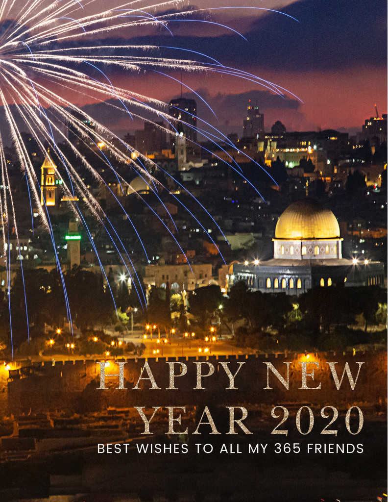 A New Year's Greeting for all My 365 Friends ! by pdulis