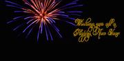 31st Dec 2019 - Happy New Year..........