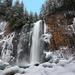 Frozen Franklin Falls
