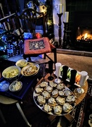 30th Dec 2019 - Crostini and nibbles by the fire