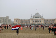 2nd Jan 2020 - Running from the sea towards the Kurhaus