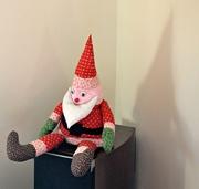 2nd Jan 2020 - Little Santa is all alone
