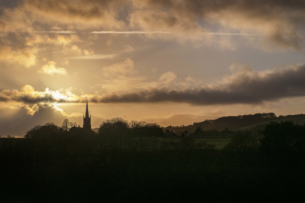 St Anne's Silhouette. by gamelee