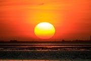 3rd Jan 2020 - Sinking Ball of Sun