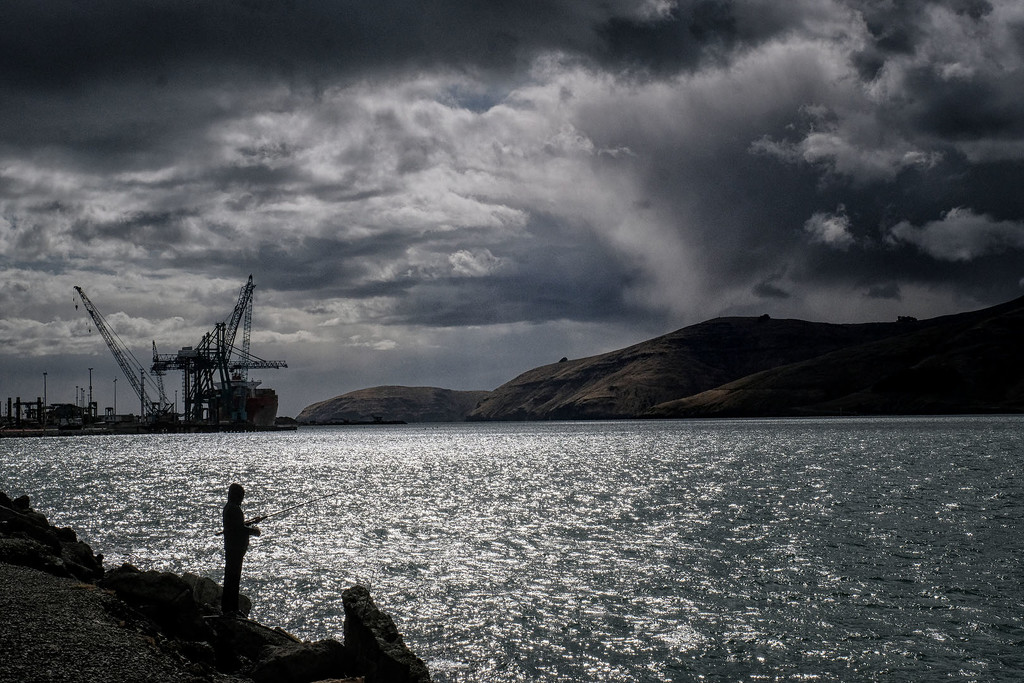 Stormy morning - Lyttelton Harbour by maureenpp