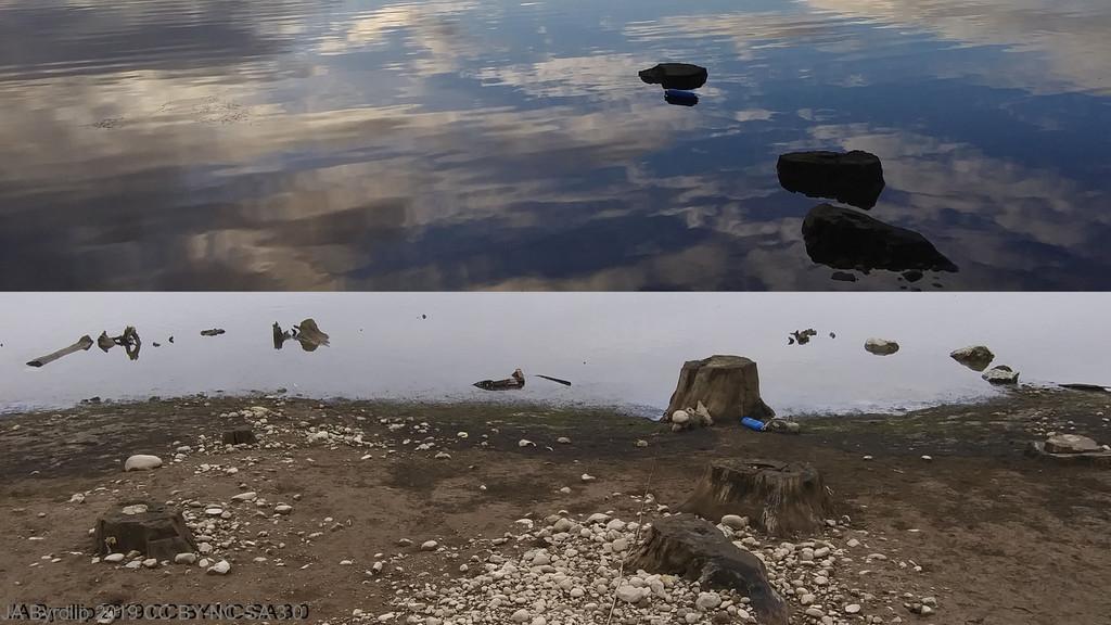 Water Level DOWN by byrdlip