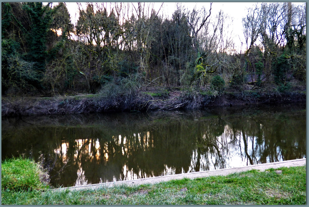 Reflections on the Severn  by beryl