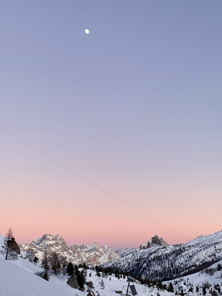 Sunset on the Dolomites  by caterina