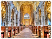 7th Jan 2020 - Sherborne Abbey,Dorset
