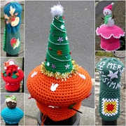7th Jan 2020 - Christmas Yarnbombing