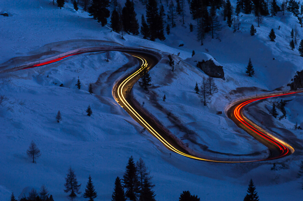 car trails by caterina