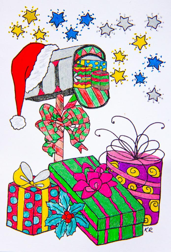 Handmade Christmas card by randystreat