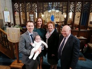 9th Jan 2020 - Christening