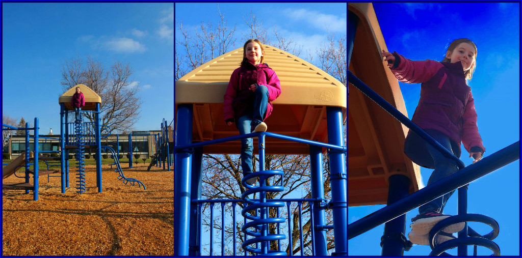 My Fearless Granddaughter by olivetreeann