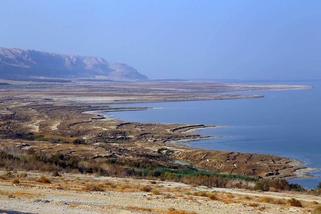 Dead Sea Coastline by pdulis