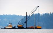 9th Jan 2020 - Waterway Traffic On Puget Sound