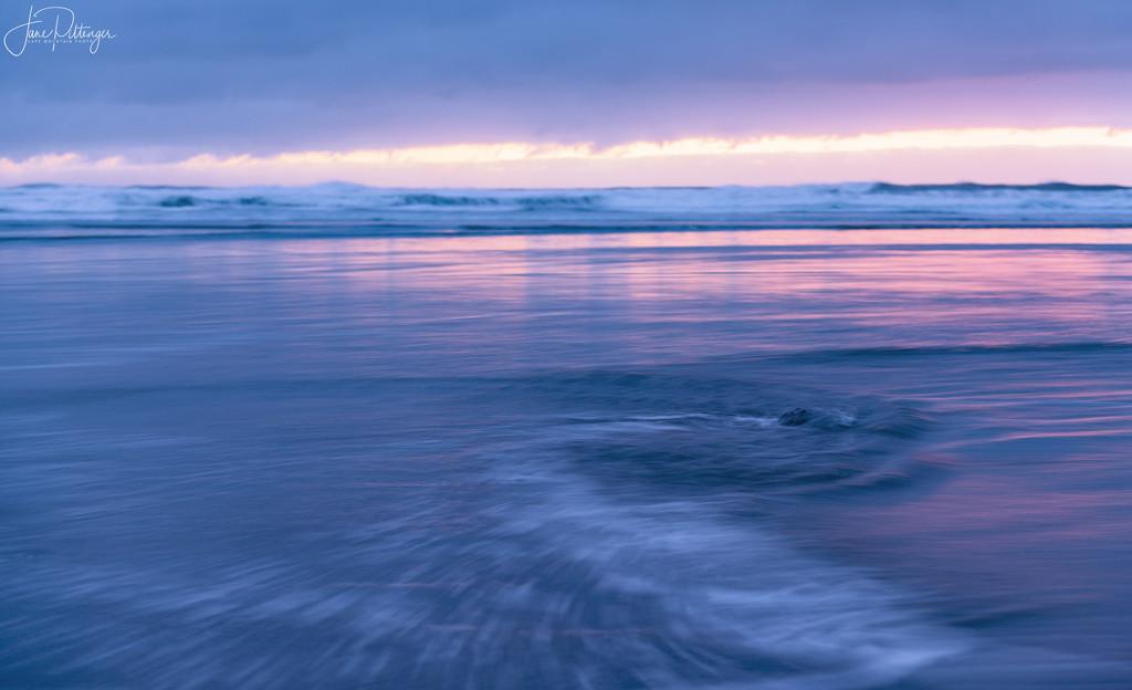 Swirls at Sunset by jgpittenger