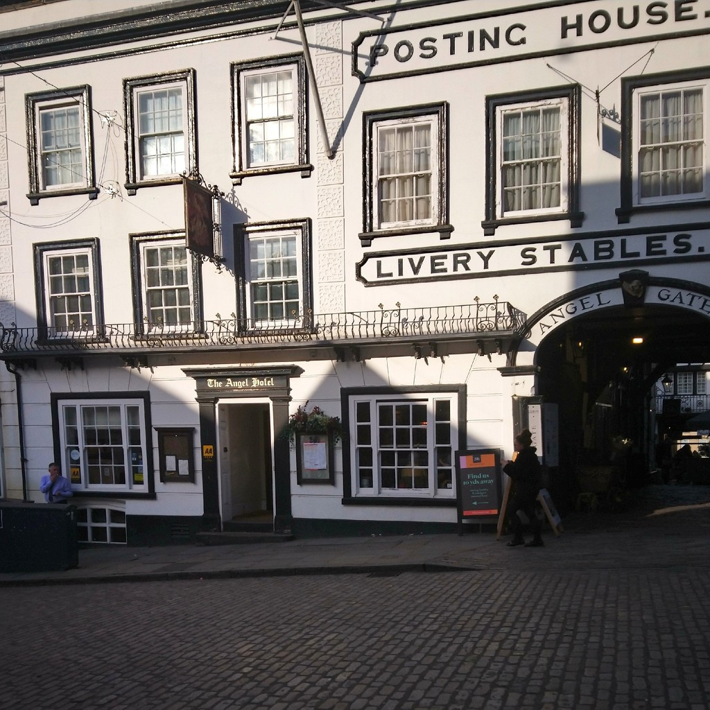 The Angel Hotel Guildford  by jmm