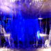 Blue Lighted Fountain