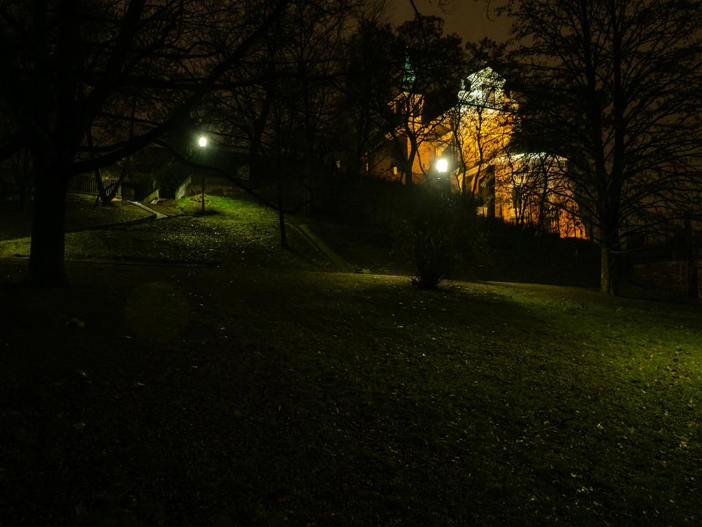 St. Anne's Church in Warsaw by haskar
