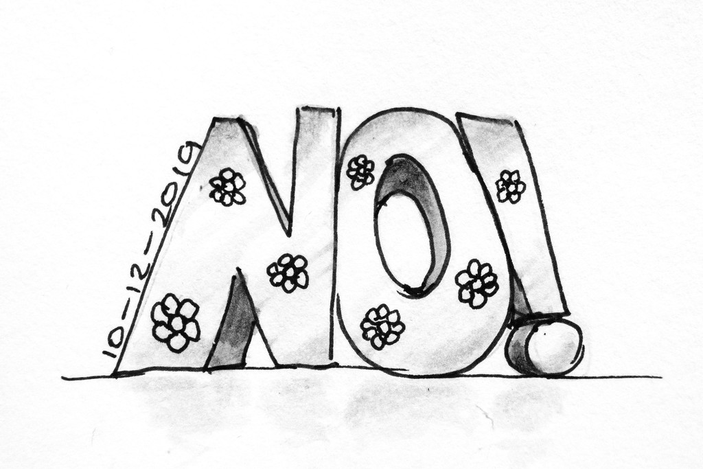 No! by harveyzone