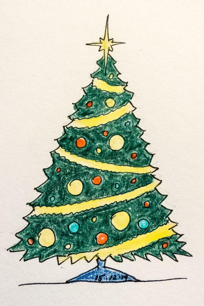 Christmas Tree by harveyzone