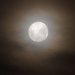 Cloud Hazed Moon - 10.52pm