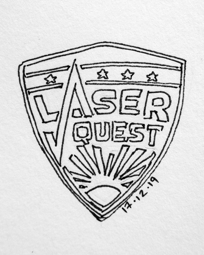 Laser Quest by harveyzone