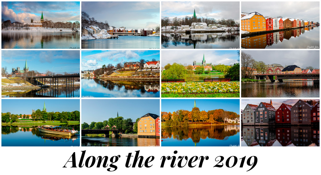 Along the river 2019 by elisasaeter
