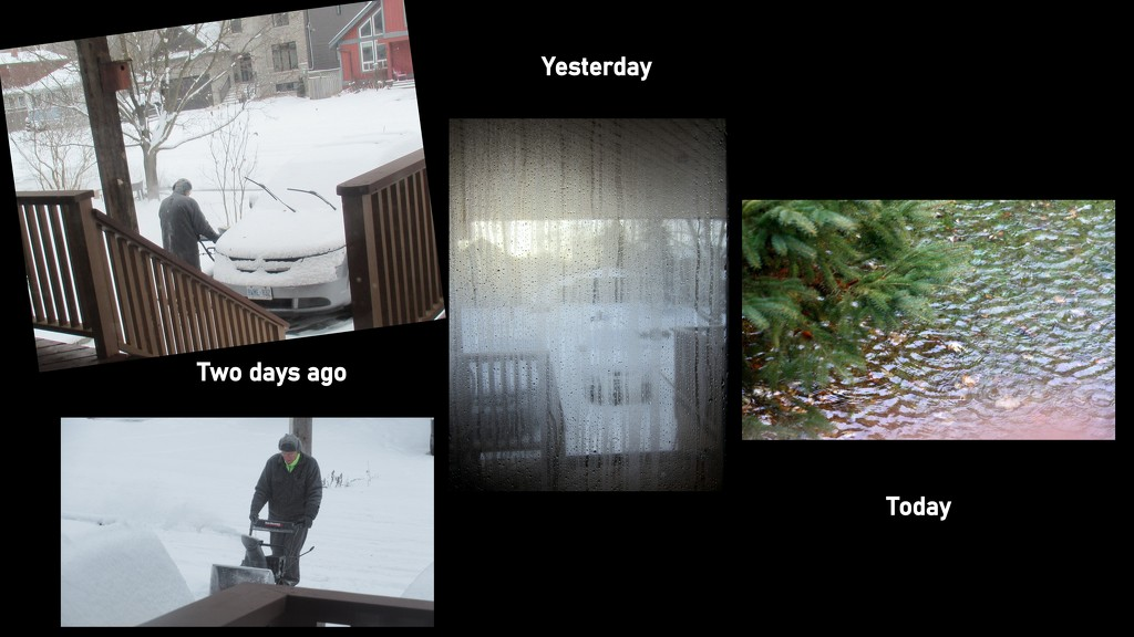 From snow to rain to freezing by bruni