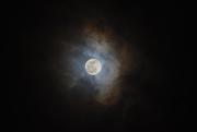 10th Jan 2020 - Moon clouds