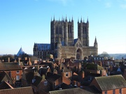 10th Jan 2020 -  Lincoln Cathedral ......and rooftops