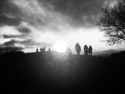 12th Jan 2020 - Clent Hills. Heading for the sun
